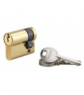 Półwkładka 5-pinowa SA 30 x 10 mm 3 klucze | Thirard