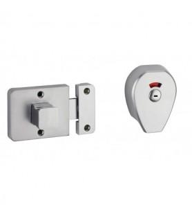 Zasuwka do WC / do drzwi 50 mm
