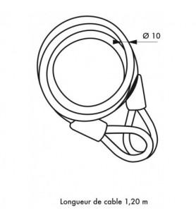 Linka TWISTY Ø 10 | 120 cm
