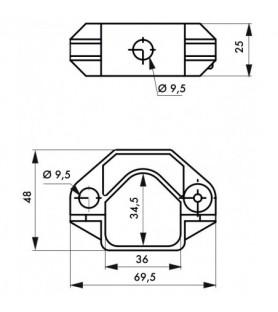 Blokada rozłącznika - 2 sztuki