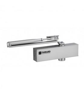 Samozamykacz hydrauliczny DESIGN odwracalny srebrny Thirard  siła 3